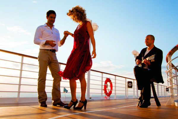 Dancing on-board Azamara