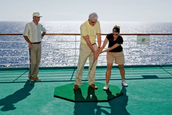 Putting Green - Crystal Cruises