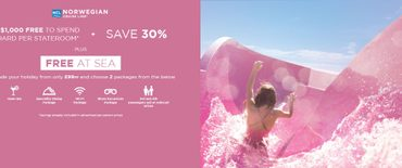NCL - Free at Sea Promotion