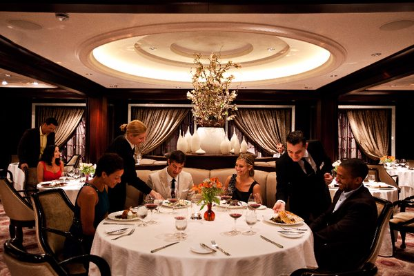 Dining on-board Celebrity Cruises