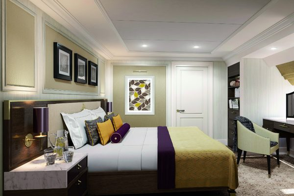 A Forward Suite on-board Saga's Spirit of Discovery