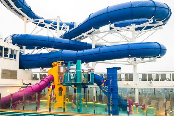 Norwegian Encore slide