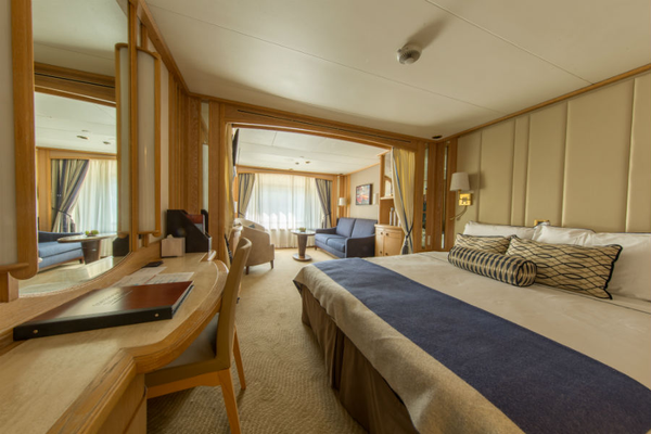 Suite on-board Windstar Cruises