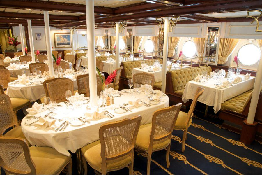Star Clippers - Dining Room