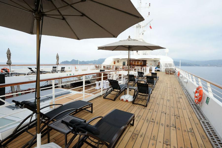 Windstar Cruises - Deck