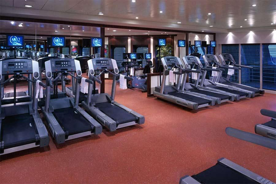 Queen Mary 2 - Fitness Centre
