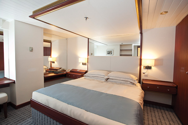 Sophisticated Class A accommodation on Saga Sapphire