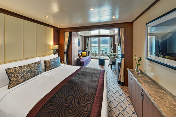 Accommodation - Seabourn Ovation