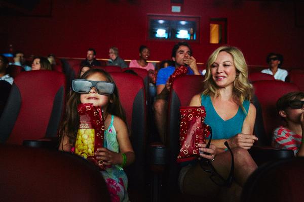 IMAX movie theatre on-board Carnival Horizon