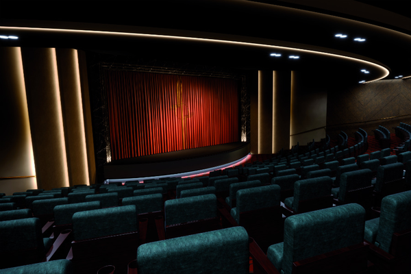 Playhouse theatre on Saga's Spirit of Discovery cruise ship