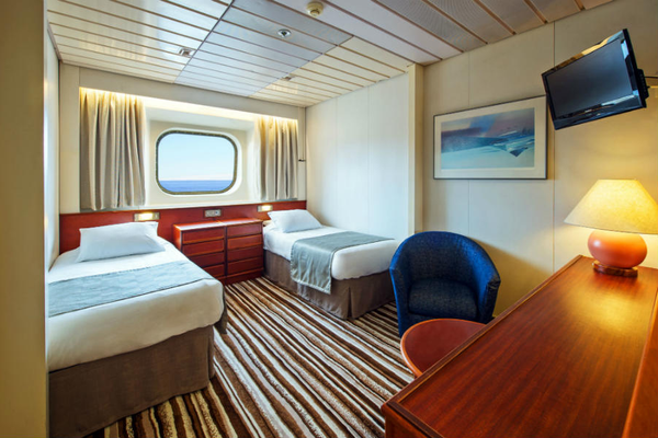 Cruise and Maritime Voyages accommodation