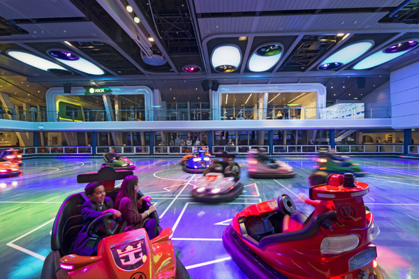 Bumper Cars - Royal Caribbean