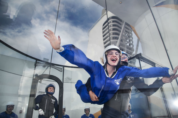 Skydiving - Royal Caribbean