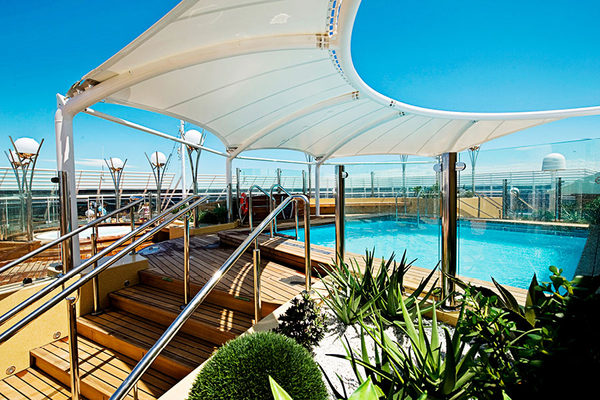 MSC Splendida Pool